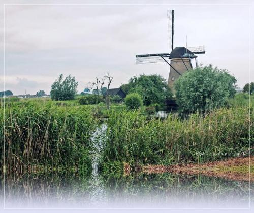 znalezione w szufladzie /Kinderdijk/ #holandia #kinderdijk #wiatrak