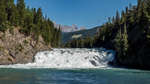 Wodospad na rzece Bow - Banff Kanada
