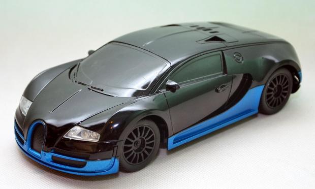 zdalnie sterowane bugatti veyron super szybki 5714302031. Black Bedroom Furniture Sets. Home Design Ideas