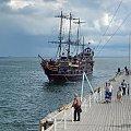 """""""Pirat"""" służy wyciczkom na całym polskim Bałtyku, a najwięcej na Zatoce Gdańskiej #żaglowiec #statek #atrakcja #wycieczkowiec"""