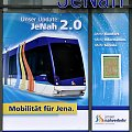 Jena, plakat #Jena #JeNah #plakat #Solaris #tram #Tramino