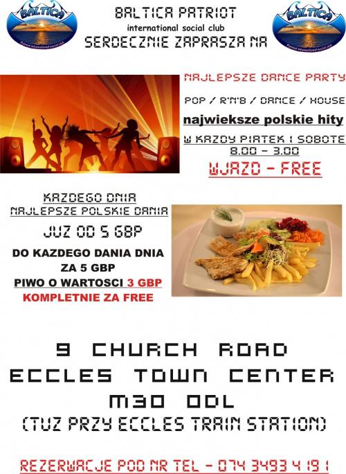 Baltica Patriot zaprasza #bar #barman #barmanka #chrzciny #dinner #disco #drink #dyskoteka #food #imieniny #impreza #KlubNocny #music #muzyka #napoj #NightClub #obiady #orkiestra #party #pub #urodziny #wesele #zabawa