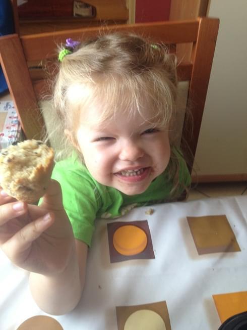 muffiny z bananami i czekoladą
