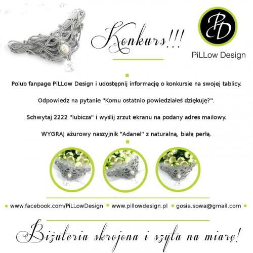 Wygraj biżuterię ślubną PiLLow Design