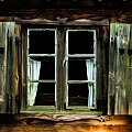Okno #okno #chałupa #domy #skansen #wieś #park