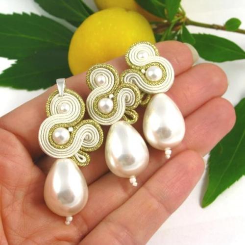 Komplet biżuterii ślubnej PiLLow Design