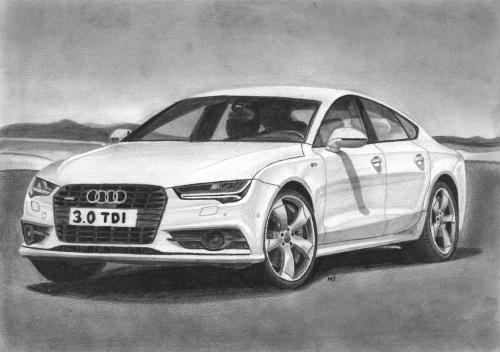 #Audi #rysunek