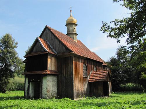 Dla przypomnienia: Tak wyglądał nasz kościółek przed rozpoczęciem remontu.