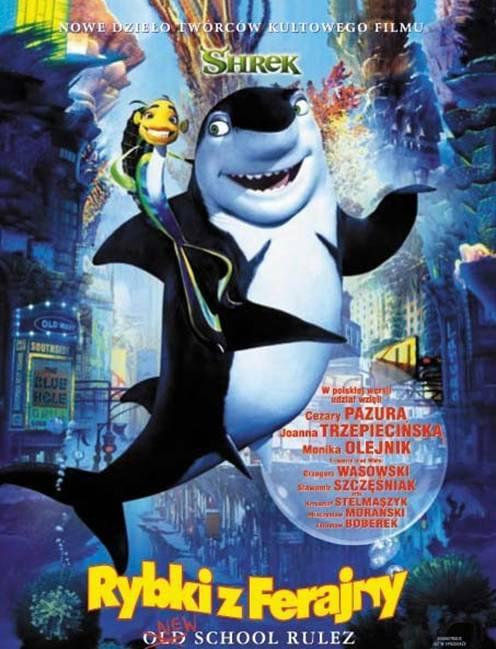 Rybki z ferajny / Shark Tale (2004) PL.AC3.DVDRip.XviD-CujoAndReksio / Dubbing PL