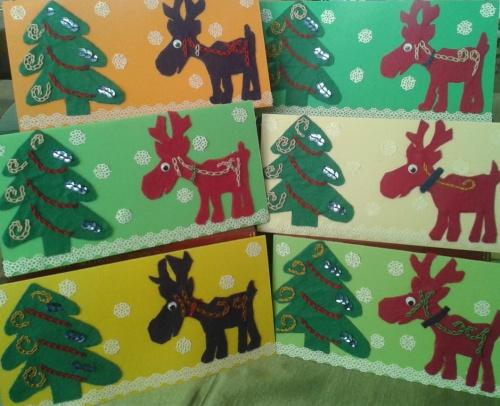 kartki świąteczne #cardigan #etui #kalinka #KartkiŚwiąteczne #kolczyki #szydełko