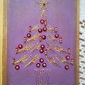Christmas Tree - form-a-lines.net #fantagiro7 #HaftMatematyczny #ObrazkiZSzyciaWzięte