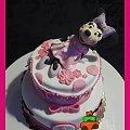 Tort z Myszką Minnie na roczek #MinnieMouse #MyszkaMinnie #roczek #tort #TortyArtystyczne #TortyKraków #TortyWalentynki