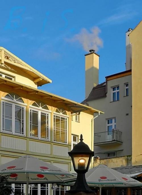 Nos Pinokia? - taki zakątek... #Sopot #Monciak #restauracja