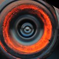 życie niczym tunel jest zależne od nas i to jak i czym je przybarwimy #abstrakcja #efekty #kielich #rozmycie #słońce #surrealizm #szkło #tunel #życie