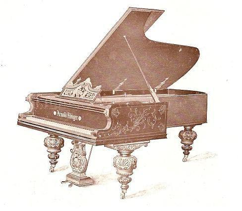 Fortepian koncertowy M-240