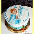 Tort Komunijny dla Chłopca #KomuniaŚwięta #tort #TortyKraków