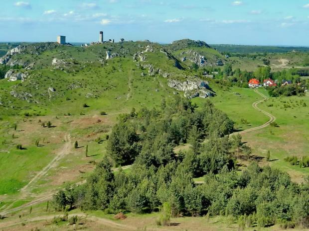 Starsze i nowsze, a my wybieramy, co chcemy #ruiny #zamek #Jura #ostańce
