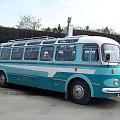Turystyczny autobus Škoda 706 RTO LUX #SkodaRTO #wojsko #Czechy #JelczLux #oldtimery