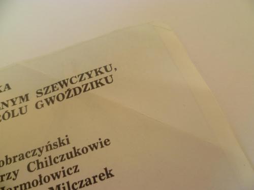 """Janusz Christa """"O straszliwym smoku...."""""""