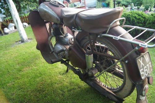 jawa perak 250 1952